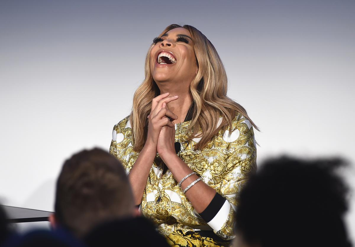 Wendy Williams speaks onstage at Vulture Festival Presented By AT&T: ASK WENDY WILLIAMS at Milk Studios on May 19, 2018 in New York City.