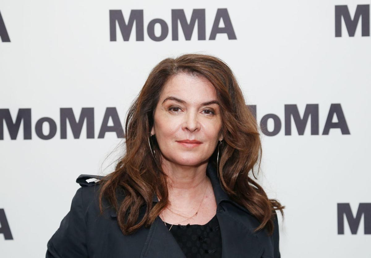 "Annabella Sciorra attends the opening night of the MoMA film series ""Abel Ferrara Unrated"" at MoMA (May 2019)"