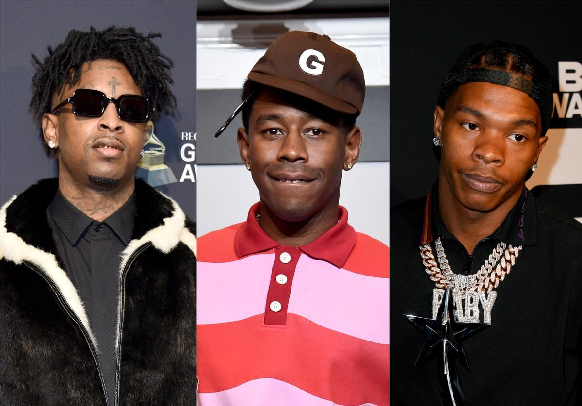 21 Savage, Tyler, The Creator, Lil Baby