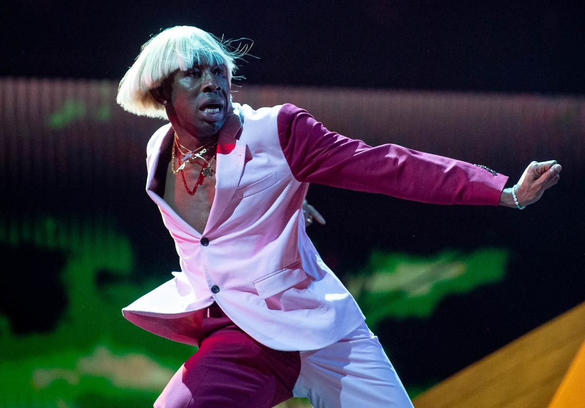 Tyler the Creator attends the 62nd annual GRAMMY Awards on January 26, 2020 in Los Angeles, California