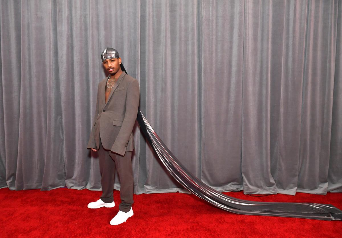 Guapdad 4000 attends the 62nd Annual GRAMMY Awards at STAPLES Center on January 26, 2020 in Los Angeles, California