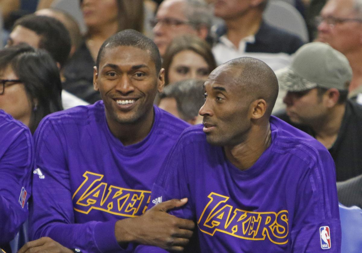 Metta World Peace, Kobe Bryant