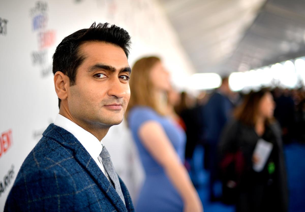 Kumail Nanjiani attends the 2018 Film Independent Spirit Awards (March 2018)