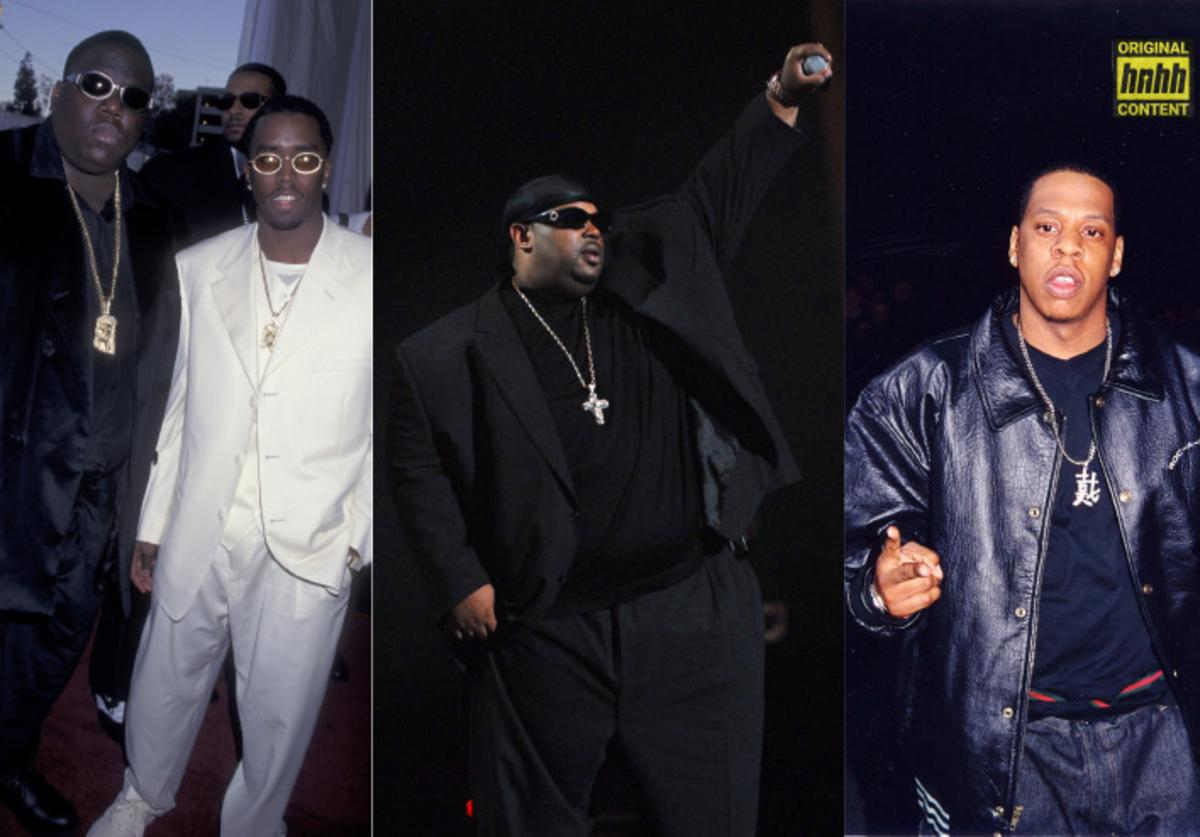Diddy and Biggie, Sauce Money, Jay-Z throwback photos