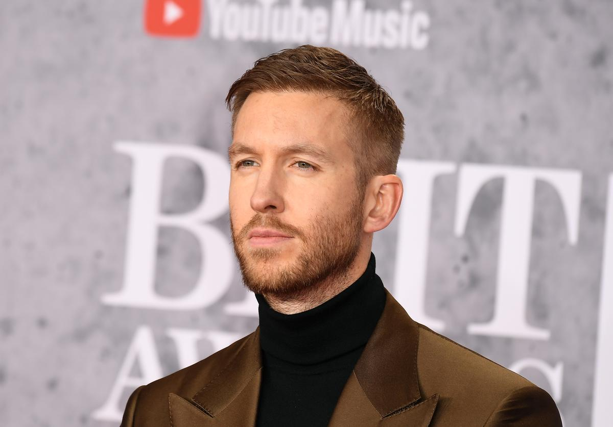 Calvin Harris attends The BRIT Awards 2019 held at The O2 Arena on February 20, 2019 in London, England.