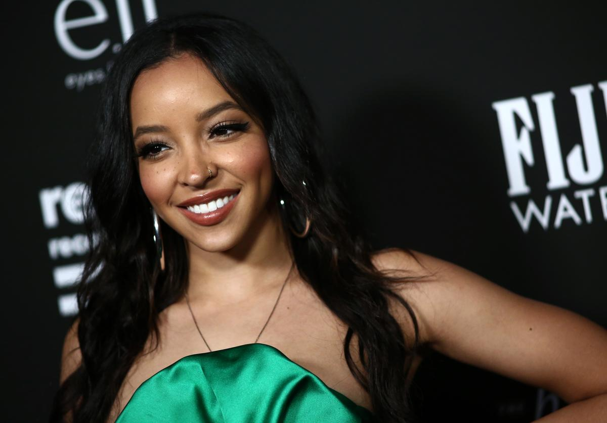 Tinashe attends Republic Records Grammy After Party at 1 Hotel West Hollywood on January 26, 2020 in West Hollywood, California.