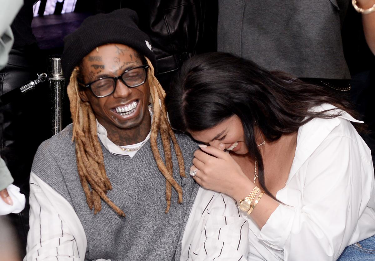 "Lil Wayne and La'Tecia Thomas attend Lil Wayne's ""Funeral"" album release party on February 01, 2020 in Miami, Florida"