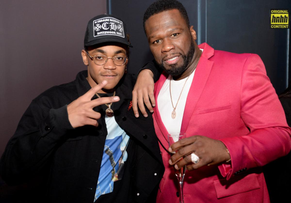 "Michael Rainey Jr and 50 Cent of ""Power"" TV show"
