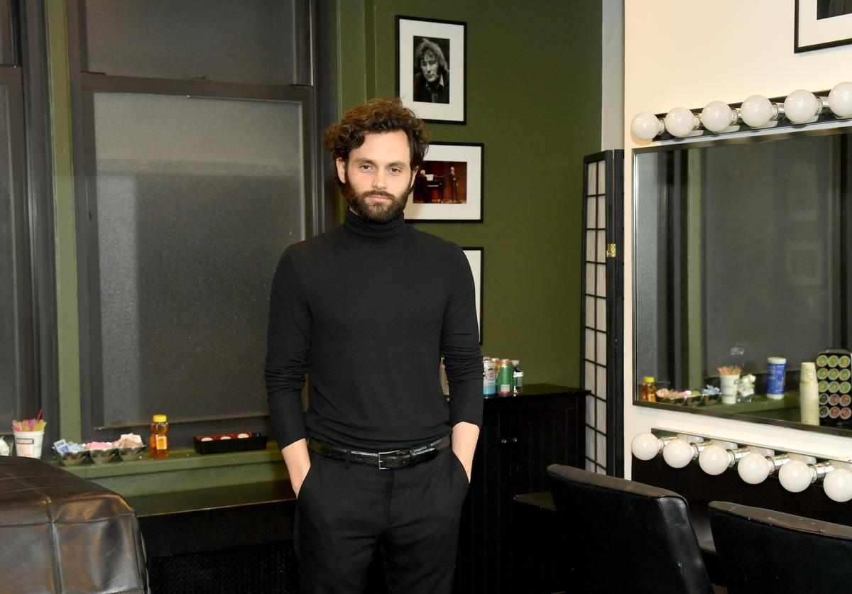 """Penn Badgley attends the Netflix's """"You"""" screening & conversation at the 92nd Street Y (Jan. 2020)"""