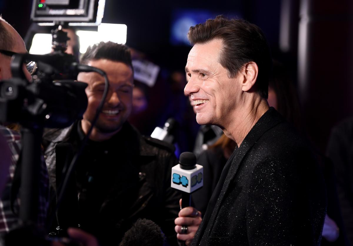 Jim Carrey bucket list interview