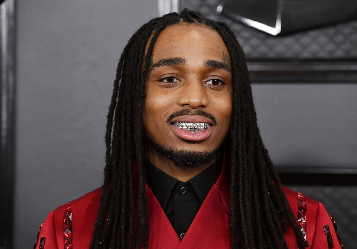 Quavo of Migos attends the 62nd Annual GRAMMY Awards at STAPLES Center on January 26, 2020 in Los Angeles, California