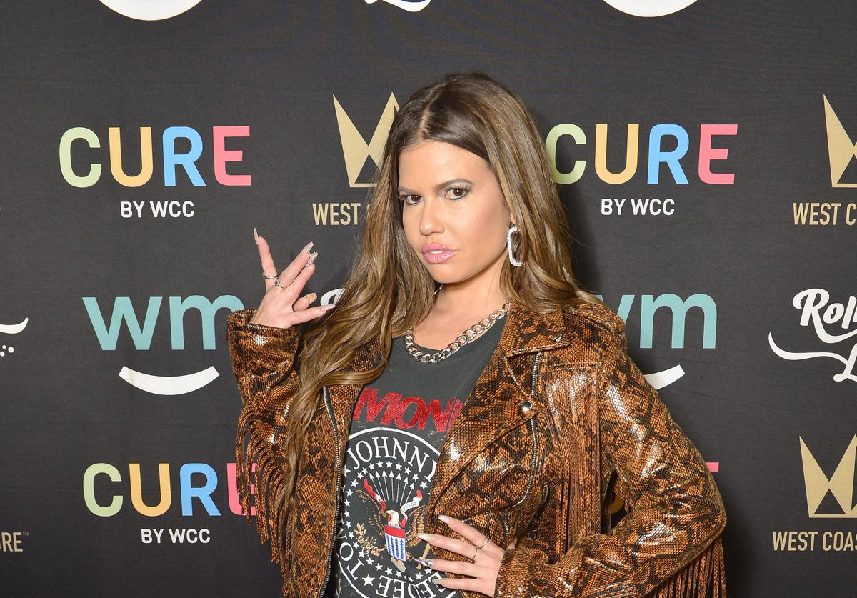 Chanel West Coast attends Rolling Loud Fueled by West Coast Cure Los Angeles 2019 - Day 1 on December 14, 2019 in Los Angeles, California