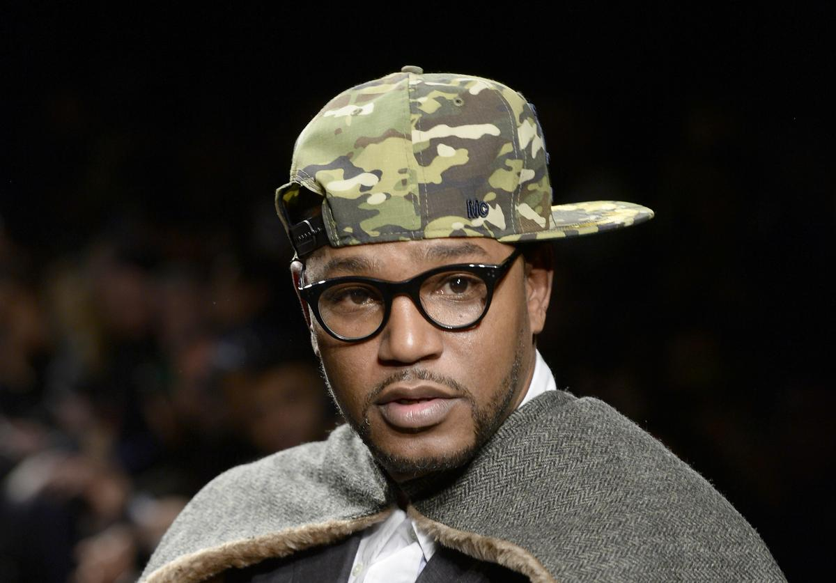 Cam'ron attends the Mark McNairy New Amsterdam runway during Mercedes-Benz Fashion Week Fall 2014 at Eyebeam on February 11, 2014 in New York City.