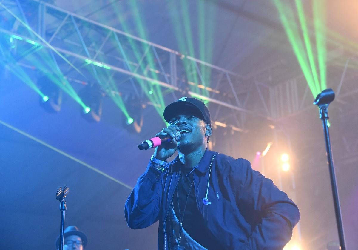 Chance The Rapper performs at 2015 Bonnarroo
