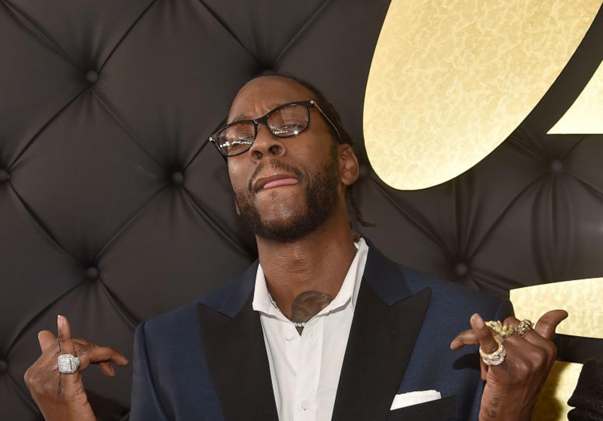 Rapper 2 Chainz attends The 59th GRAMMY Awards at STAPLES Center on February 12, 2017 in Los Angeles, California.