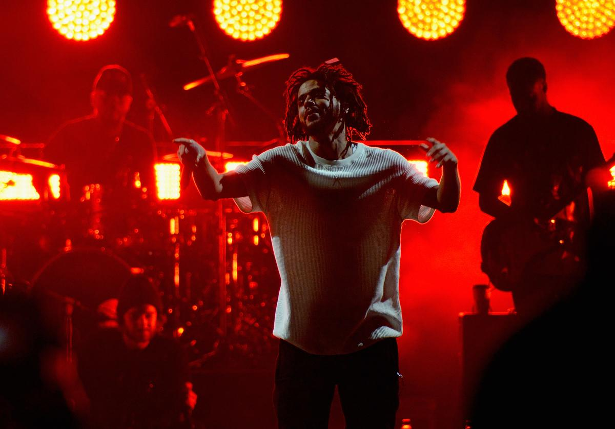 J. Cole Jay Z Holds Get Out The Vote Concert In Support Of Hillary Clinton
