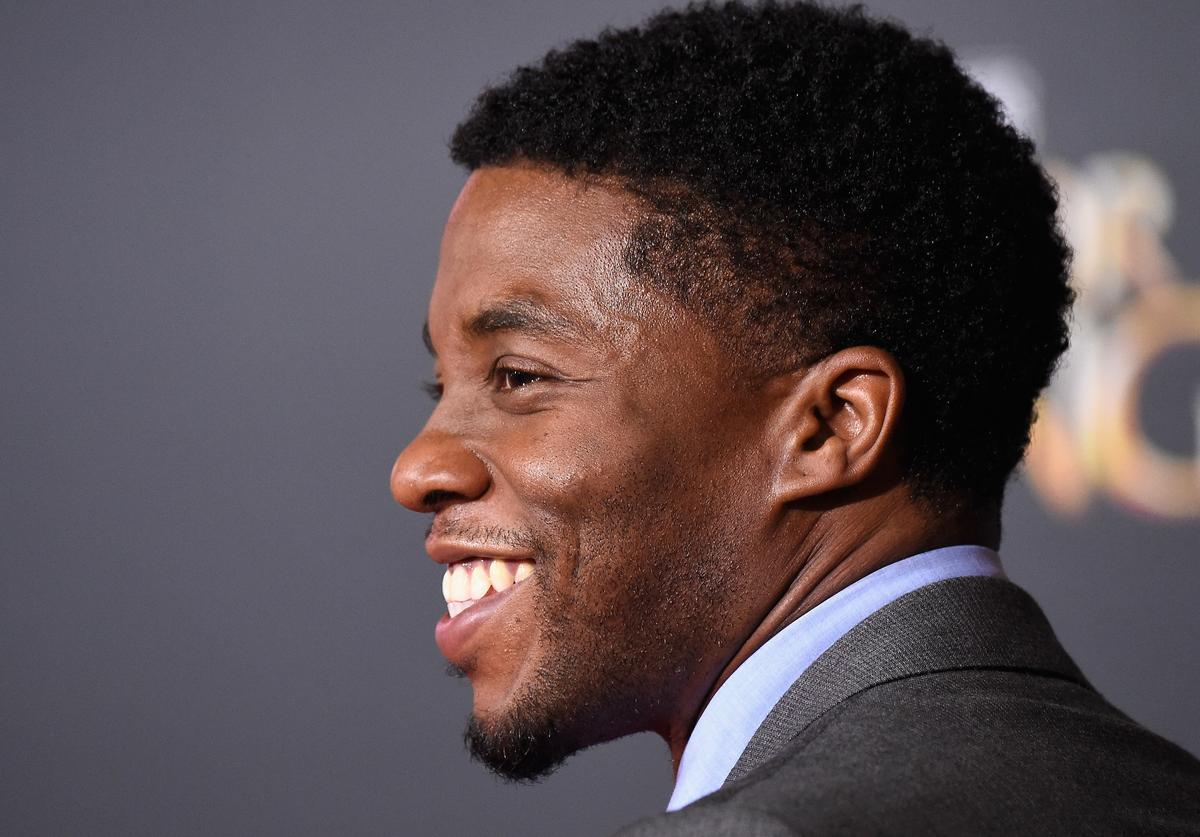 Chadwick Boseman Premiere Of Disney And Marvel Studios' 'Doctor Strange' - Arrivals