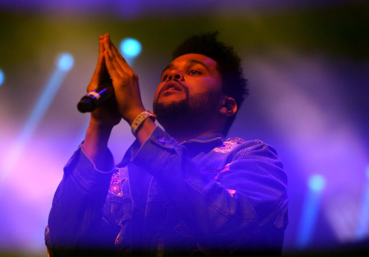 The Weeknd 2017 Coachella Valley Music And Arts Festival - Weekend 1 - Day 2