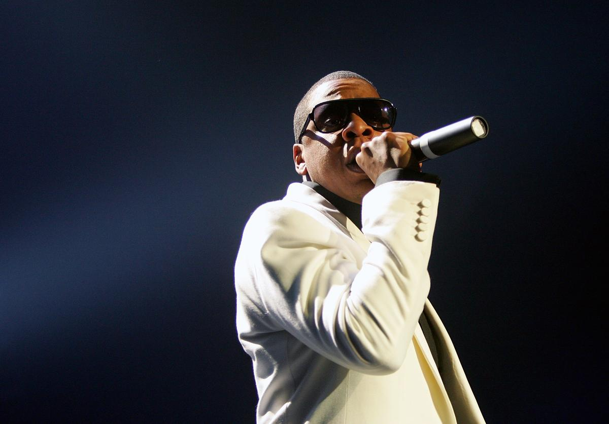 Jay-Z In Concert At The Pearl