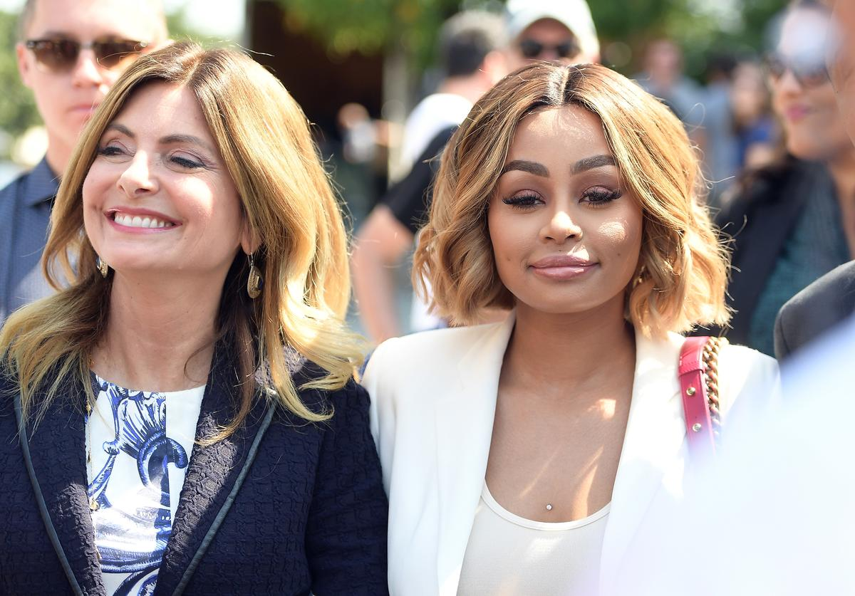 Blac Chyna & Lisa Bloom at pretrial court hearing