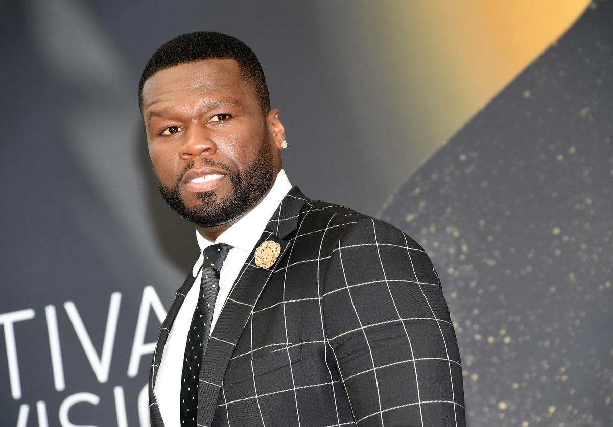 50 cent on red carpet