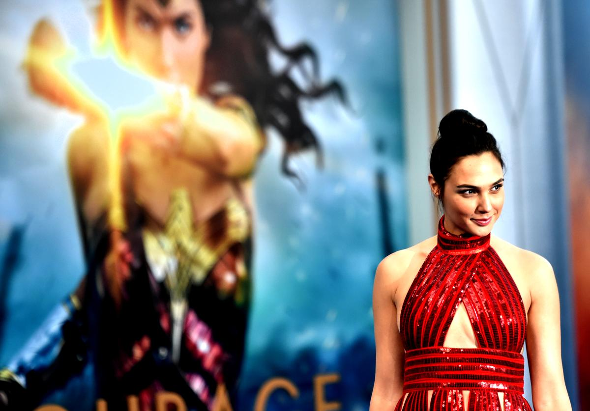 Actress Gal Gadot arrives at the Premiere Of Warner Bros. Pictures' 'Wonder Woman' at the Pantages Theatre on May 25, 2017 in Hollywood, California