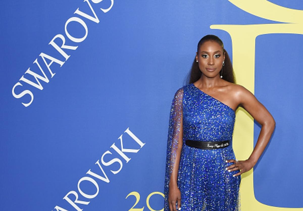 Issa Rae attends the 2018 CFDA Fashion Awards at Brooklyn Museum on June 4, 2018 in New York City.
