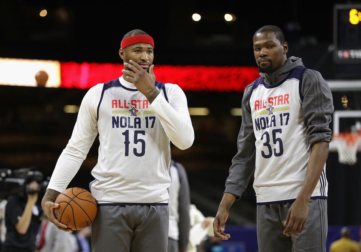 DeMarcus Couins & Kevin Durant