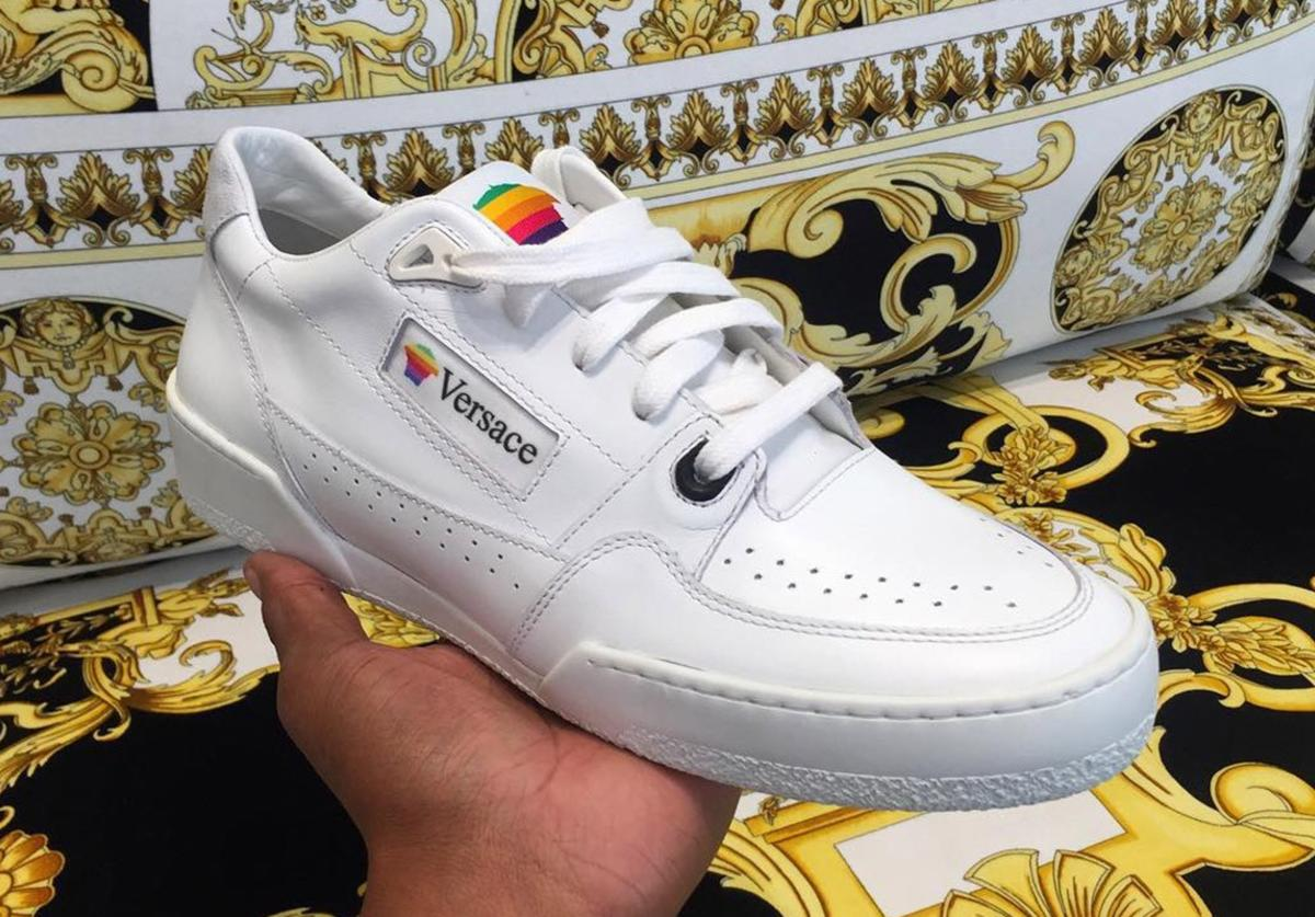 Versace Apple sneakers