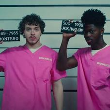 """Lil Nas X & Jack Harlow Are Jailbirds In """"Industry Baby"""" Visual"""