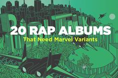 20 Rap Albums That Need Marvel Variants