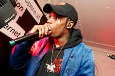 """Travis Scott's Mom Dragged Him For Spelling """"Happyness"""" On Twitter"""