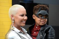 Amber Rose & Wiz Khalifa's Son Goes Blonde