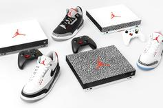 Xbox One X Honors The Air Jordan 3 With Special Edition Consoles