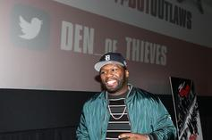 50 Cent Beefing Up At The Gym For New Underwear Campaign