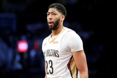 Anthony Davis Appears to Shave Unibrow; Fans Aren't Convinced