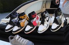 DJ Khaled Previews Five Upcoming Air Jordan 1 Releases