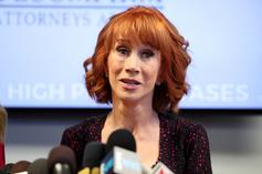 """Kathy Griffin: Kevin Hart Avoiding Trump Jokes Is """"A P*ssy Move"""""""