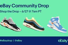 "Ebay Launches First Ever ""Community Sneaker Drop"""