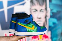 """Neymar"" Air Jordan 1 Custom Revealed"