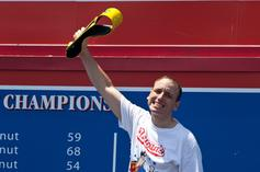 Joey Chesnutt Wins 11th Nathan's Title By Eating Record 74 Hot Dogs