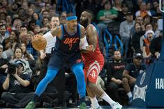 "Houston Rockets ""Strong Frontrunners"" To Land Carmelo Anthony"