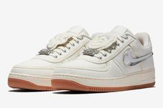Travis Scott x Nike Air Force 1 Low Release Date Announced