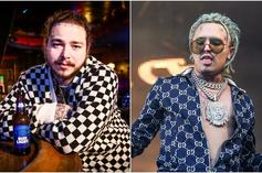 Post Malone & Lil Pump Are A Couple Of Vagabonds Messin' Around