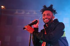 Aminé On Wearing Women's Perfume & Crowd-Surfing While Virtually Blind