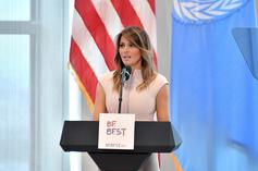 """Melania Trump Says She's """"The Most Bullied Person In The World"""""""