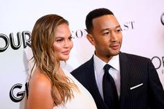 "Chrissy Teigen & John Legend Had A ""Blowout"" Fight At Kim & Kanye West's Wedding"
