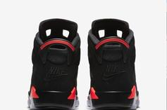 """Air Jordan 6 """"Black/Infrared"""" Returning In Sizes For The Whole Family"""