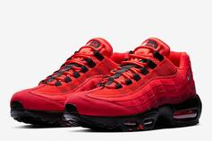 """Nike Air Max 95 OG Gets Dressed In """"Habanero Red"""""""