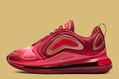 """Nike Air Max 720 """"Team Crimson"""" Is For The Kids Only"""